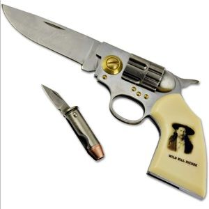 Wild Bill Hicock legends of the west gun knife